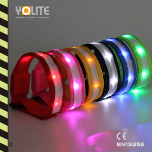 LED Armband, LED Slap Wrap, Armband, Slap Wrap with CE En13356 pictures & photos