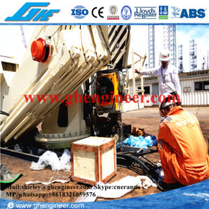 2.5t@22m Hydraulic Telescopic Boom Marine Pedestal Crane pictures & photos