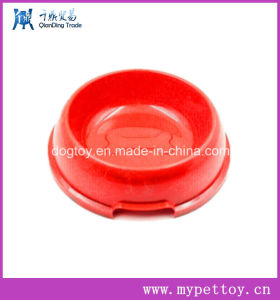 High Quality Plastic Dog Bowls with Bone Logo pictures & photos