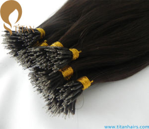 Virgin Hair Nano Ring Brazilian Human Hair Extension pictures & photos