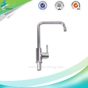 Modern Mirror Polished Stainless Steel Water Sink Kitchen Faucet pictures & photos