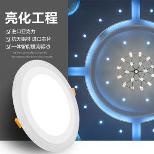 High Lumen Standard Sizes Multicolor COB LED Panel Light 6W pictures & photos