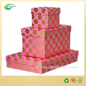 Decorate Full Color Lid Style Solid Board Gift Boxes (CKT-PB-014) pictures & photos