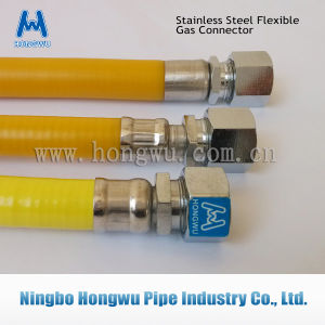 SUS 304 Flexible Metal Hose Nature Gas Pipe