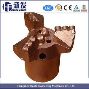 Three Wings Inner Concave Non Core PDC Drill Bit pictures & photos