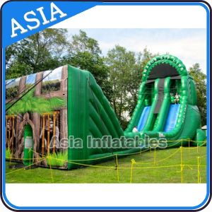Giant Inflatable Jungle Zip Line Challenge Sports for Event pictures & photos