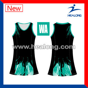 Healong Women Netball Skirts Dresses Sportswear with Bespoke Design pictures & photos