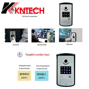 Cheap Price, Indoor or Outdoor Video Door Phone Knzd-42vr IP Video Door Phone, Security Control pictures & photos