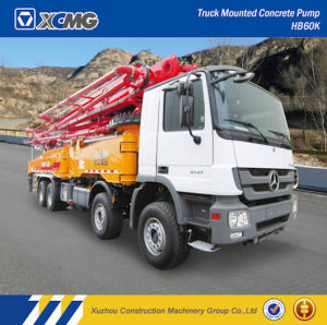 XCMG Hb60k 60m Trcuk Mounted Concrete Pump for Sale pictures & photos