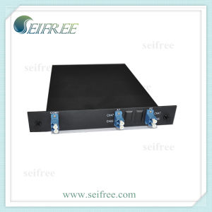 Optical Fiber 2*4 OADM for FTTH CATV with Lu Connector pictures & photos