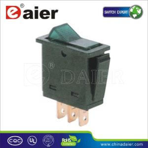 12V Illuminated on-off Auto Rocker Switch for Car (ASW-25D) pictures & photos