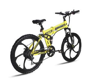 China Electric Folding Bike for Mountain pictures & photos