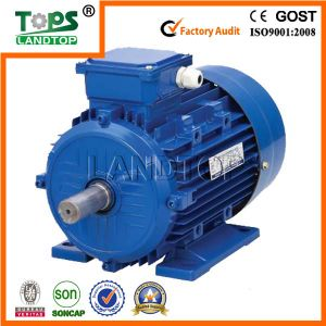 AC three phase electric motor MS series of IEC IE2 standards with aluminium shell pictures & photos