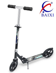 Anti-Skid PU Wheel Adult Toy Kick Scooter (BX-2M002) pictures & photos