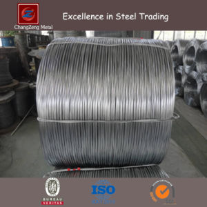 Galvanized Steel Wire for Metal Mesh (CZ-W55) pictures & photos