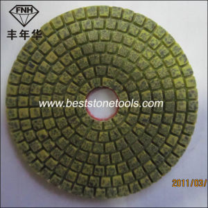 "Wd-9-100 Diamond Metal Bond Hybrid Flexible Wet Polishing Pad (4""/100mm) pictures & photos"