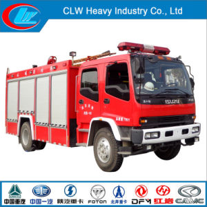 Good Quality Isuzu 4X2 130HP Fire Fighting Truck for Sale pictures & photos