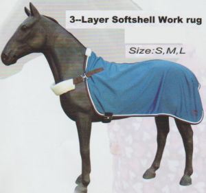 Horse Gear 3--Layer Softshell Work Rug & 3-Layer Softshell Exercise Sheet