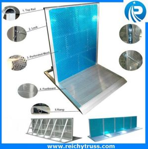 Hot Selling Aluminum Crowd Barrier, Crowd Control Barricade for Sale pictures & photos