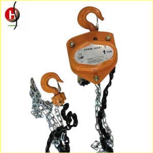 Hsc Type Good Price Manual Construction Hoist pictures & photos