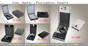 Cheaper Car Safe Hand Gun Safe with 3 Code (CS-21MC) pictures & photos