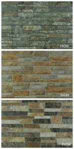 Porcelain Rustic Exterior Stone Wall Tile for Decoration (333X500mm) pictures & photos