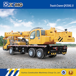XCMG Used Qy20g. 5 20ton Hydraulic Truck Crane pictures & photos