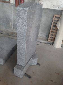 Grey Granite Paving Stone/Covering/Flooring/Paving/Tiles/Slabs/Granite Headstone/Granite Monument/European Tombstone pictures & photos