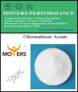 High Quality Chlormadinone Acetate 99% 302-22-7 Steriod pictures & photos
