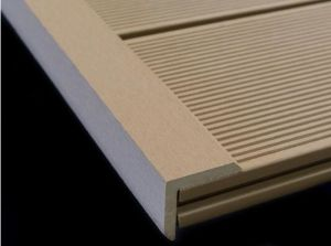 WPC Flooring Corner Trim L Profile Outdoor Skirting Panel pictures & photos