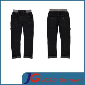 Boys Clothing Black Kids Jeans Size for Children (JT8048) pictures & photos