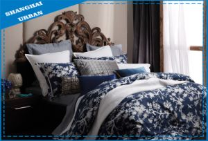 3PCS European Style Printed Polyester Bedding Set pictures & photos