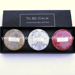 @Christmas Seriess Gift Set Organic Soy Wax Natural Scented Tin Candle pictures & photos