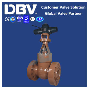 Electric High Pressure Casting Flanged Gate Valve pictures & photos