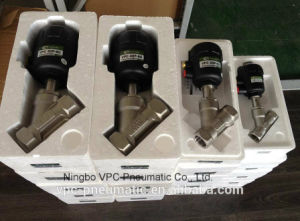 Normal Open Angle Seat Valves with Plastic Actuator pictures & photos
