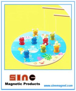 Wooden Magnetic Cat Fishing Toy/ Educational Toy pictures & photos