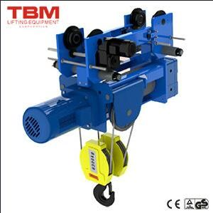 Tbm Hoist, Wire Rope Hoist, Electric Travelling Hoist pictures & photos