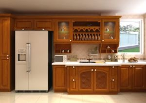 PVC Thermofoil Cabinets pictures & photos