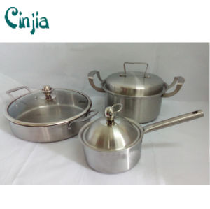 6 PCS Cookware Set Good Cook of The Stainess Steel Cookware pictures & photos