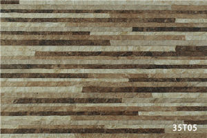 Made in China Ceramic Parquet Stone Exterior Wall Tile (333X500mm)