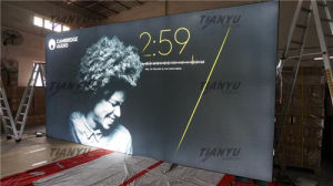 Promotion Aluminum Fabric Trade Show LED Aluminum Light Box pictures & photos