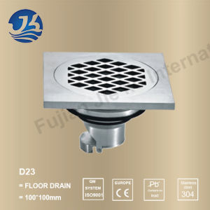 Stainless Steel Bathroom Hardware Floor Drain (D23)