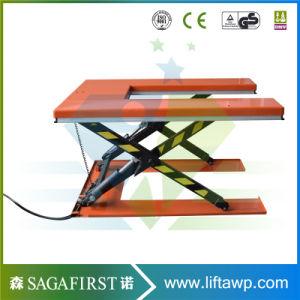 1ton Electric Goods U Type Lift Table Pallet Scissor Lift pictures & photos