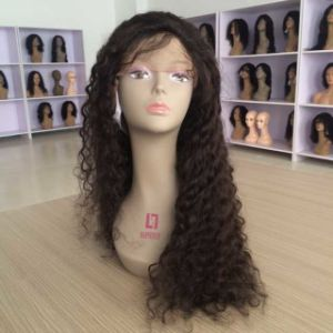 Brazilian Kinky Curly Cull Lace Wig pictures & photos