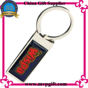 Blank Metal Keychain with Printed Logo pictures & photos