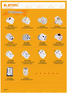 UK 13 AMP Plug Travel Adapter with Light pictures & photos