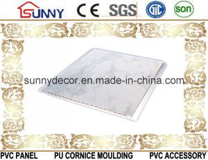 Interior Marble Design PVC Panel, Interior Marble Desgn PVC Ceiling Factory pictures & photos