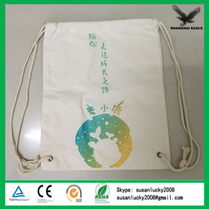 Wholesale Cotton Fabric Drawstring Bag pictures & photos