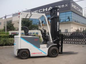 1 Ton Electric Forklift with Battery pictures & photos