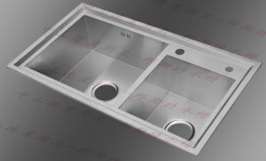 Handmade Kitchen Stainless Steel Sink (8246S) pictures & photos